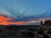 Arches Sunset Pano Blend