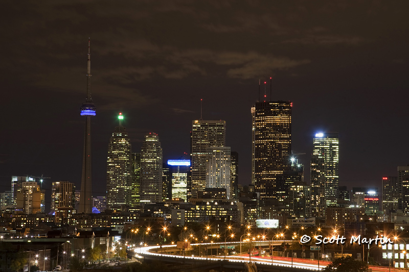 Toronto Night Skyline 01