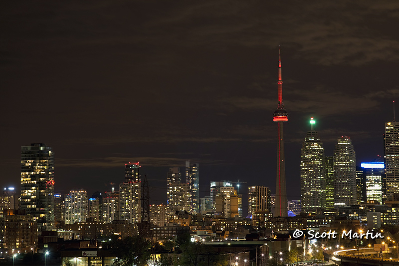 Toronto Night Skyline 02